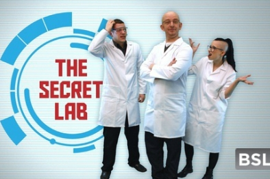 The Secret Lab - titles